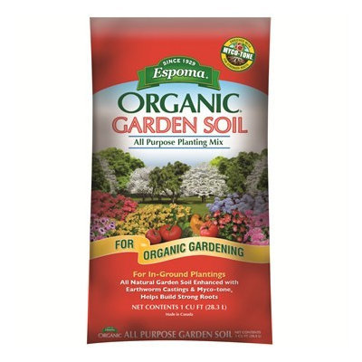 Espoma Organic Garden Soil All Purpose Planting Mix