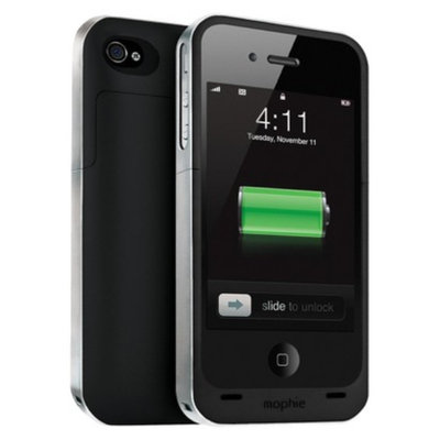 Superior mophie Juice Pack Rechargeable External Battery for iPhone 4/4s -