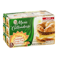 Marie Callender's Flaky Croissant with Sausage, Egg & Monterey Jack - 3 CT