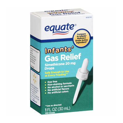 Equate Simethicone Infants' Gas Relief 20mg Drops