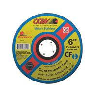 CGW Abrasives Quickie Cut Contaminate Free Cut-Off Wheels - 4-1/2x.045x7/8 t27 wa60-r-bf quickie c.o. whl (Set of 10)