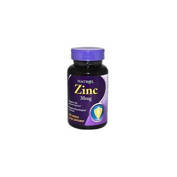 Natrol Zinc 30 mg Caps, 100 ct
