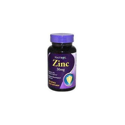 Natrol Zinc 30 mg Caps, 100 ct