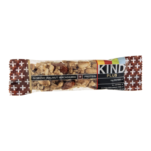 KIND® Plus Snack Bar Almond Walnut Macadamia + Protein