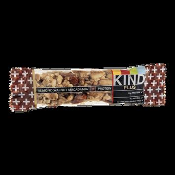 KIND Plus Snack Bar Almond Walnut Macadamia + Protein