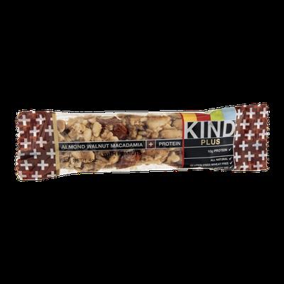 KIND® Plus Snack Bar Almond Walnut Macadamia + Protein