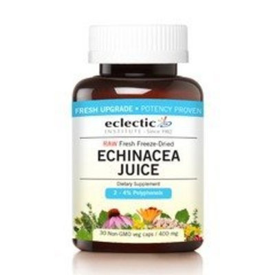Echinacea Purpurea Juice Concentrate 400mg Organic Eclectic Institute 30 VCaps