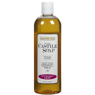 Soap Castile-Peppermint Shadow Lake 16 oz Liquid