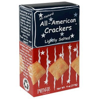 Partners All-American Crackers, Lightly Salted, 4-Ounce Boxes (Pack of 6)