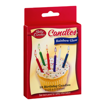 Betty Crocker Birthday Candles