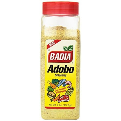 Badia Spices inc Adobo, with Pepper, 32-Ounce (Pack of 6)