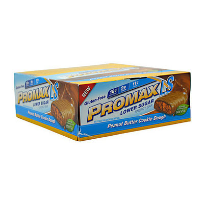 Promax LS Lower-Sugar Peanut Butter Cookie Dough Energy Bar
