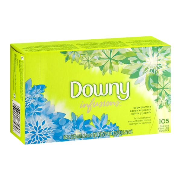 Downy Infusions Fabric Softener Sheets - 105 CT