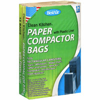 Bestair Clean Kitchen Paper With Plastic Liner Compactor Bags