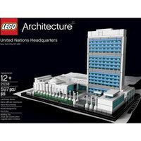 LEGO Architecture United Nations Headquarters 21018