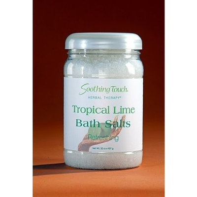 Soothing Touch Tropical Lime Bath Salts 32 oz.