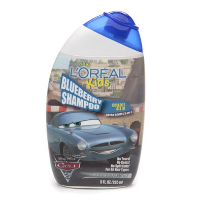 L'Oréal Paris Kids Cars 2 Extra Gentle 2-in-1 Shampoo Blueberry (Finn McMissile)