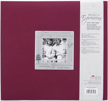 Mbi 803513 Expressions Postbound Album 12 x 12 Inch