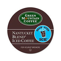 Green Mountain Coffee Roasters Brew Over Ice Nantucket Blend Iced Coffee K-Cups