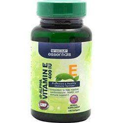 BETANCOURT ESSENTIALS Betancourt Essentials Vitamin E, 100 Softgels - 400 IU