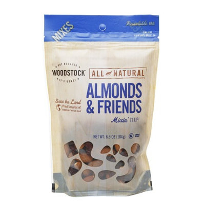 WOODSTOCK Trail & Snack Mixes Natural Almond & Friends Mix, 6.5 oz