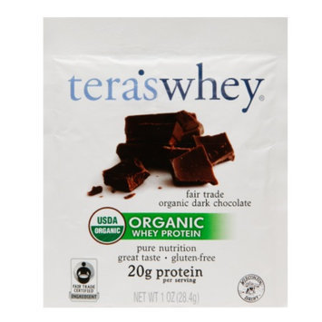 tera's whey Organic Whey Protein Fair Trade Dark Chocolate