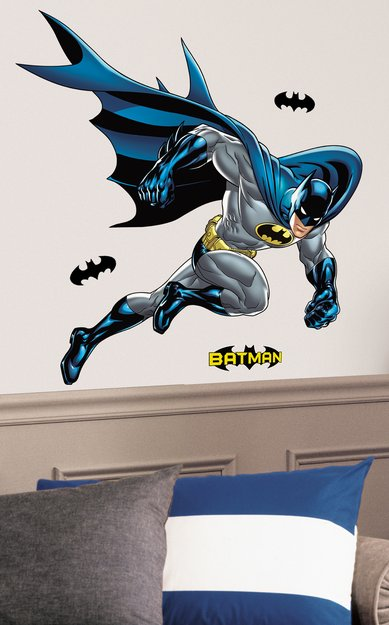 Roommates RoomMates Batman Bold Justice Peel & Stick Giant Wall Decal