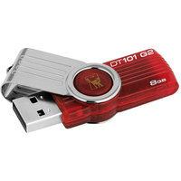 Kingston DataTraveler 101 G2 DT101G2/8GBZ Flash Drive - 8 GB