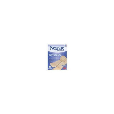 Nexcare Soft 'N Flex Bandages, Assorted Sizes-35ct