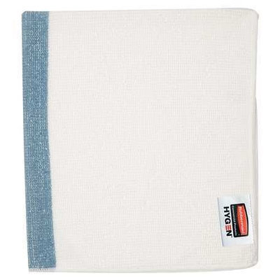 RUBBERMAID 1805728 Sanitizing Towel, Blue, PK24