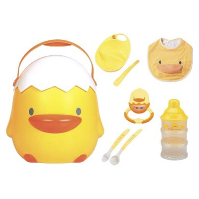 Piyo Piyo 8-Piece Baby Feeding Gift Set