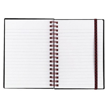 Ecom Notebook Black n' Red 4.125 x 5.875 White