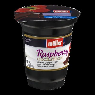 Muller® Yogurt Raspberry Chocolate Chip