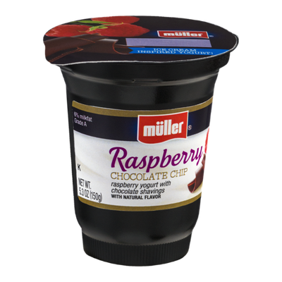 Muller® Yogurt Raspberry Chocolate Chip