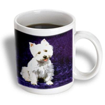 Recaro North 3dRose - Dogs West Highland Terrier - Westie - 15 oz mug