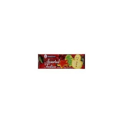 Voortman, Assorted Festive Cookies, 10.6oz Bag (Pack of 4)