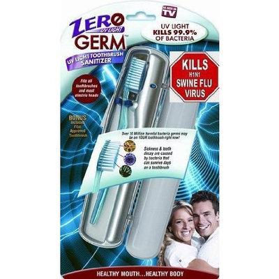 CSS Inc Zero Germ UV Light Toothbrush Sanitizer