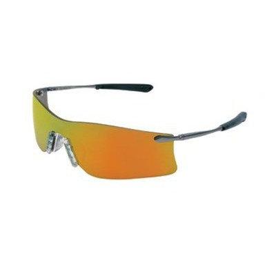 Crews T4112AF Rubicon Safety Glasses Grey, Lens Anti-fog Lens, 1 Pair
