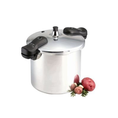 Tabletops Unlimited, Inc Essential Home 8 Qt. Aluminum Pressure Cooker - TABLETOPS UNLIMITED, INC.