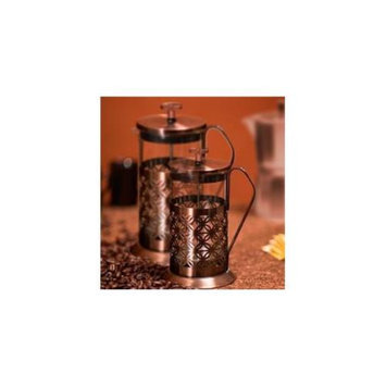 OVENTE FSF34C Ovente FSF34C 34oz French Press Coffee Maker, Flower