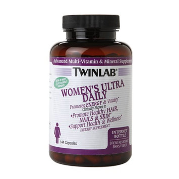 Twinlab Women's Ultra Daily Multivitamin, Capsules, 144 ea