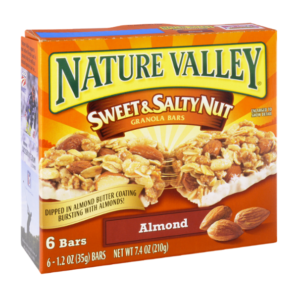 Nature Valley Sweet & Salty Nut Granola Bars Almond