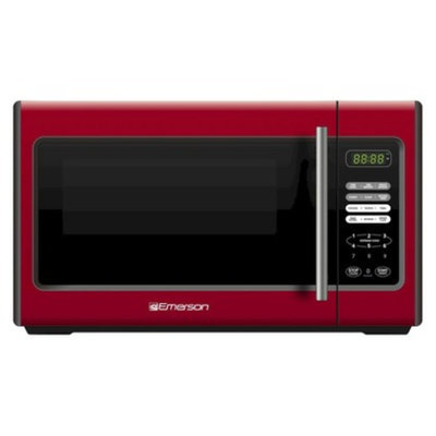 Emerson 900-Watt Microwave - Red (MW9338RD)