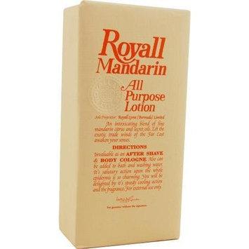 Royall Fragrances Royall Mandarin Orange For Men. Aftershave Lotion Cologne 8 Ounces