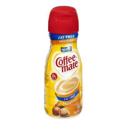 Nestlé Coffee-Mate Fat Free Hazelnut Flavor Coffee Creamer