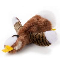 ToyShoppeA Stuffing Free Goose Squeaker Dog Toy
