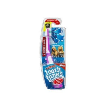 Turbo Tooth Tunes Battery Powered Toothbrush, Aly and AJ
