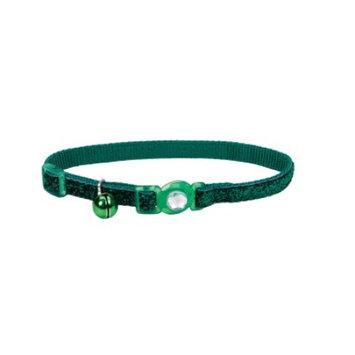 Safe Cat Collars Safe Cat Jeweled Adjustable Breakaway Cat Collar - Gr