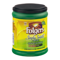 Folgers Ground Coffee Simply Smooth Decaf Medium