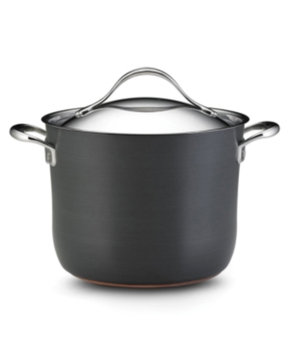 Anolon Nouvelle Hard-Anodized Copper 8 Qt. Covered Stockpot